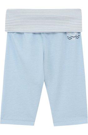 Хлопковые брюки с принтом | Фото №1