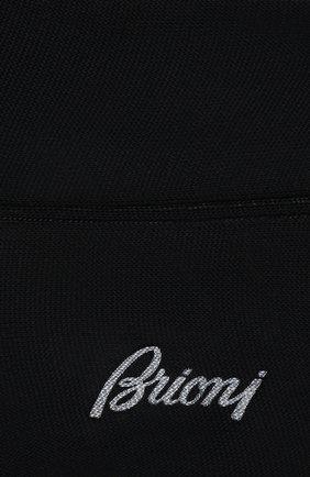 Мужские шелковые носки BRIONI темно-синего цвета, арт. 0VMC00/P3Z21 | Фото 2