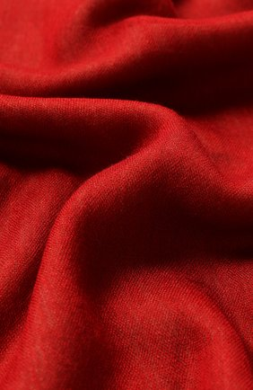 Мужской шарф из кашемира и шелка LORO PIANA красного цвета, арт. FAF6131 | Фото 2