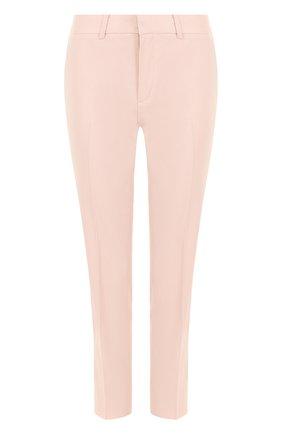 Шерстяные укороченные брюки со стрелками | Фото №1