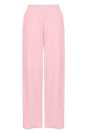 Хлопковые укороченные брюки с карманами | Фото №1