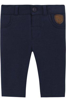 Хлопковые брюки с карманами | Фото №1