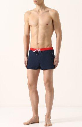 Плавки-шорты с карманами Garcon Francais синие   Фото №1