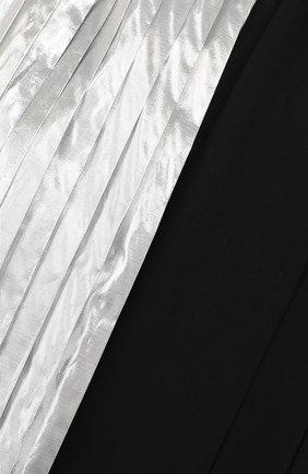 Юбка асимметричного кроя с плиссированными вставками   Фото №3