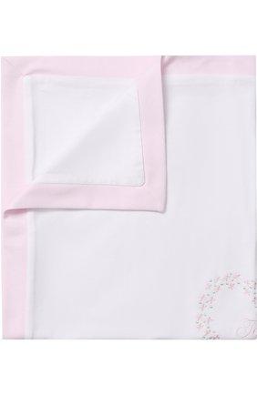 Хлопковое одеяло с вышивкой | Фото №1