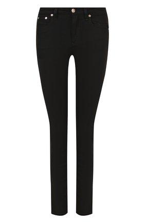 Однотонные джинсы-скинни