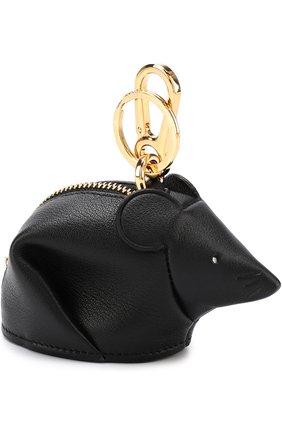Кожаный брелок Mouse | Фото №2