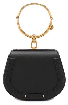 Женская сумка nile CHLOÉ черного цвета, арт. CHC17US301HEU001   Фото 1