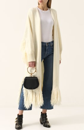Женская сумка nile CHLOÉ черного цвета, арт. CHC17US301HEU001   Фото 2