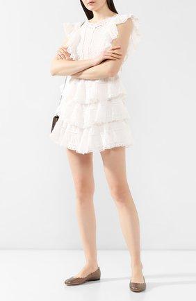 Кожаные балетки Lauren | Фото №2