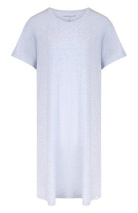 Однотонная сорочка свободного кроя | Фото №1