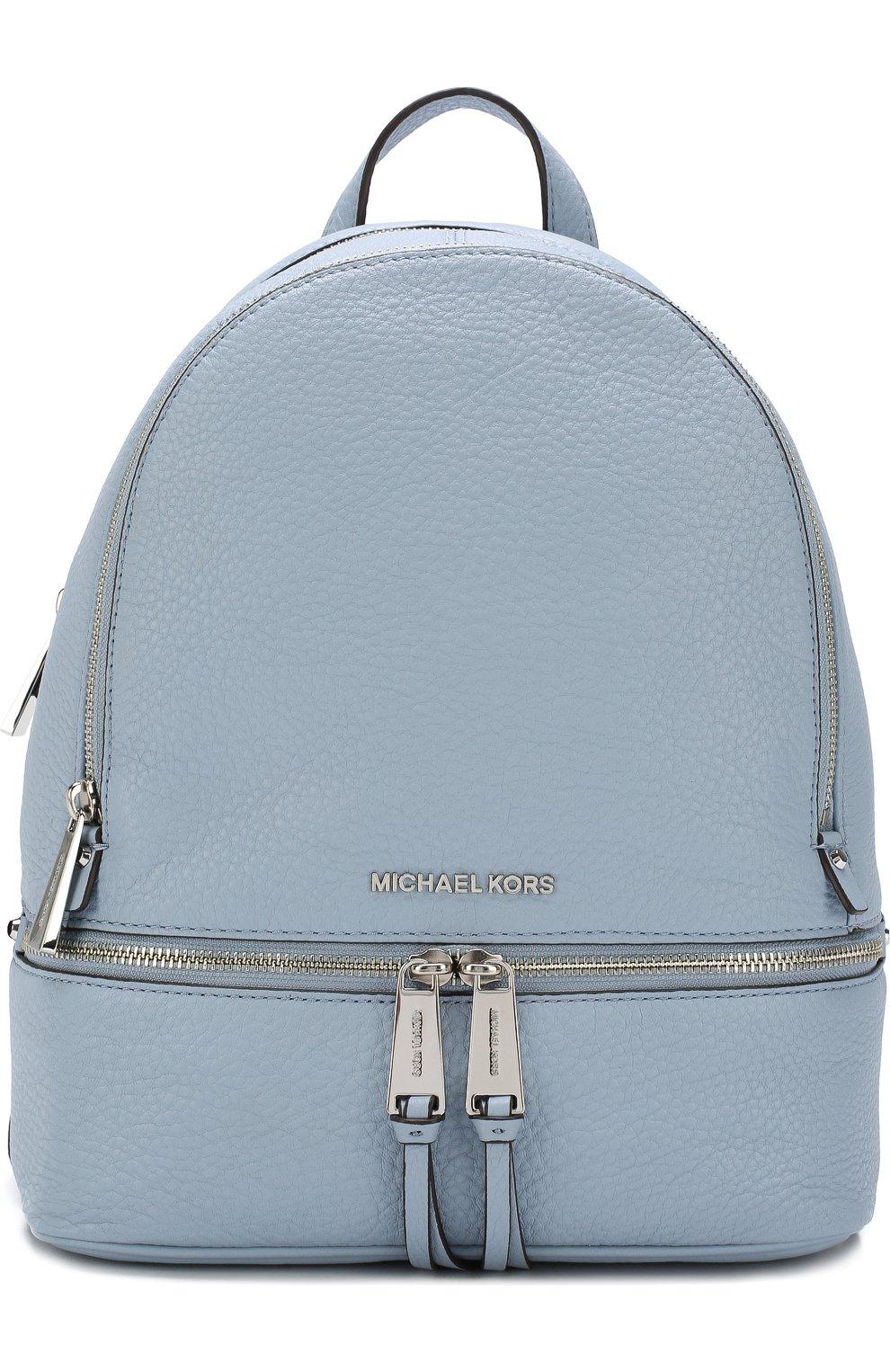 Кожаный рюкзак Rhea Zip Small | Фото №1