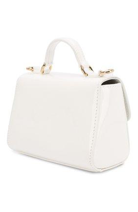 Детская лаковая сумка DOLCE & GABBANA белого цвета, арт. EB0103/A1471 | Фото 2