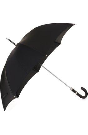Зонт-трость с отделкой из кожи крокодила | Фото №2