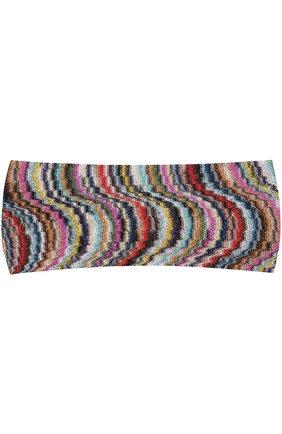 Вязаная повязка из вискозы | Фото №1
