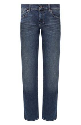 Мужские джинсы 7 FOR ALL MANKIND синего цвета, арт. JSSCU250MX | Фото 1