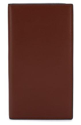 Мужской кожаное портмоне с отделениями для кредитных карт BRIONI светло-коричневого цвета, арт. 0HPY0L/06752 | Фото 1