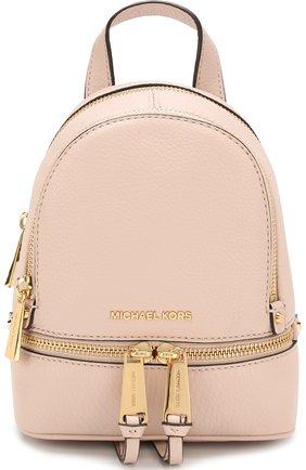 Кожаный рюкзак Rhea Zip XS | Фото №1