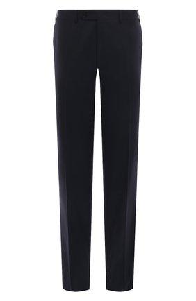 Мужской шерстяные брюки CANALI темно-синего цвета, арт. 71012/AT00552 | Фото 1