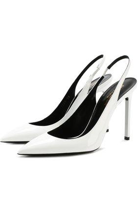 Кожаные туфли Anja на шпильке