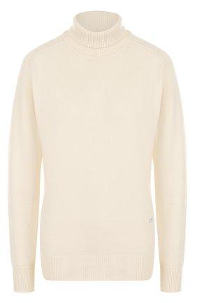 Однотонный кашемировый свитер | Фото №1