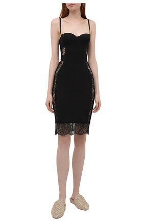 Женская сорочка LA PERLA черного цвета, арт. 905871B | Фото 2