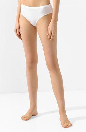 Женские трусы-слипы HANRO белого цвета, арт. 071253   Фото 2