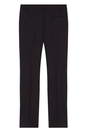 Детские шерстяные брюки Dal Lago черного цвета | Фото №1