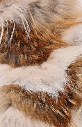 Воротник из меха лисы | Фото №2