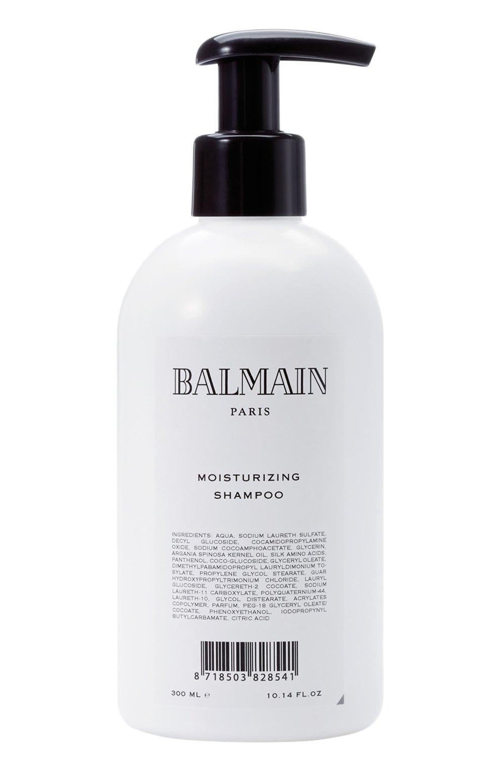 Увлажняющий шампунь для волос (300ml) BALMAIN HAIR COUTURE бесцветного цвета, арт. 8718969473293   Фото 1 (Статус проверки: Проверена категория)