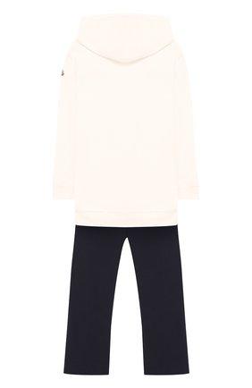 Спортивный комплект из брюк и худи Moncler Enfant синего цвета   Фото №1