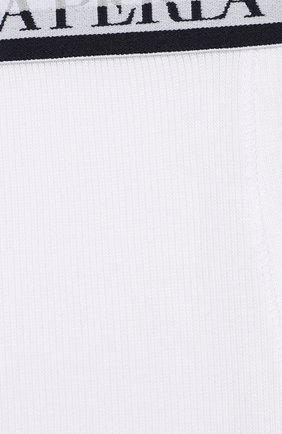 Хлопковые боксеры с логотипом бренда | Фото №3