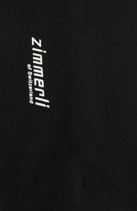 Мужские шерстяные носки ZIMMERLI темно-синего цвета, арт. 2541 | Фото 2