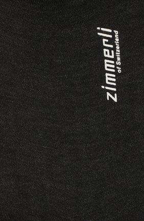 Мужские шерстяные носки ZIMMERLI серого цвета, арт. 2541 | Фото 2