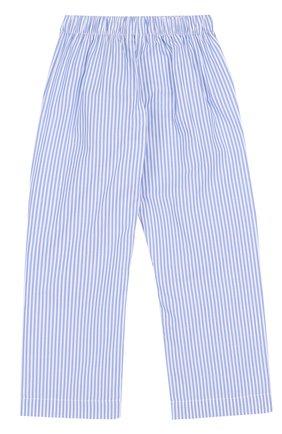 Хлопковая пижама в полоску | Фото №5