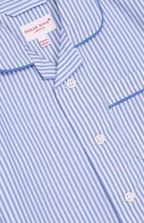Хлопковая пижама в полоску | Фото №6