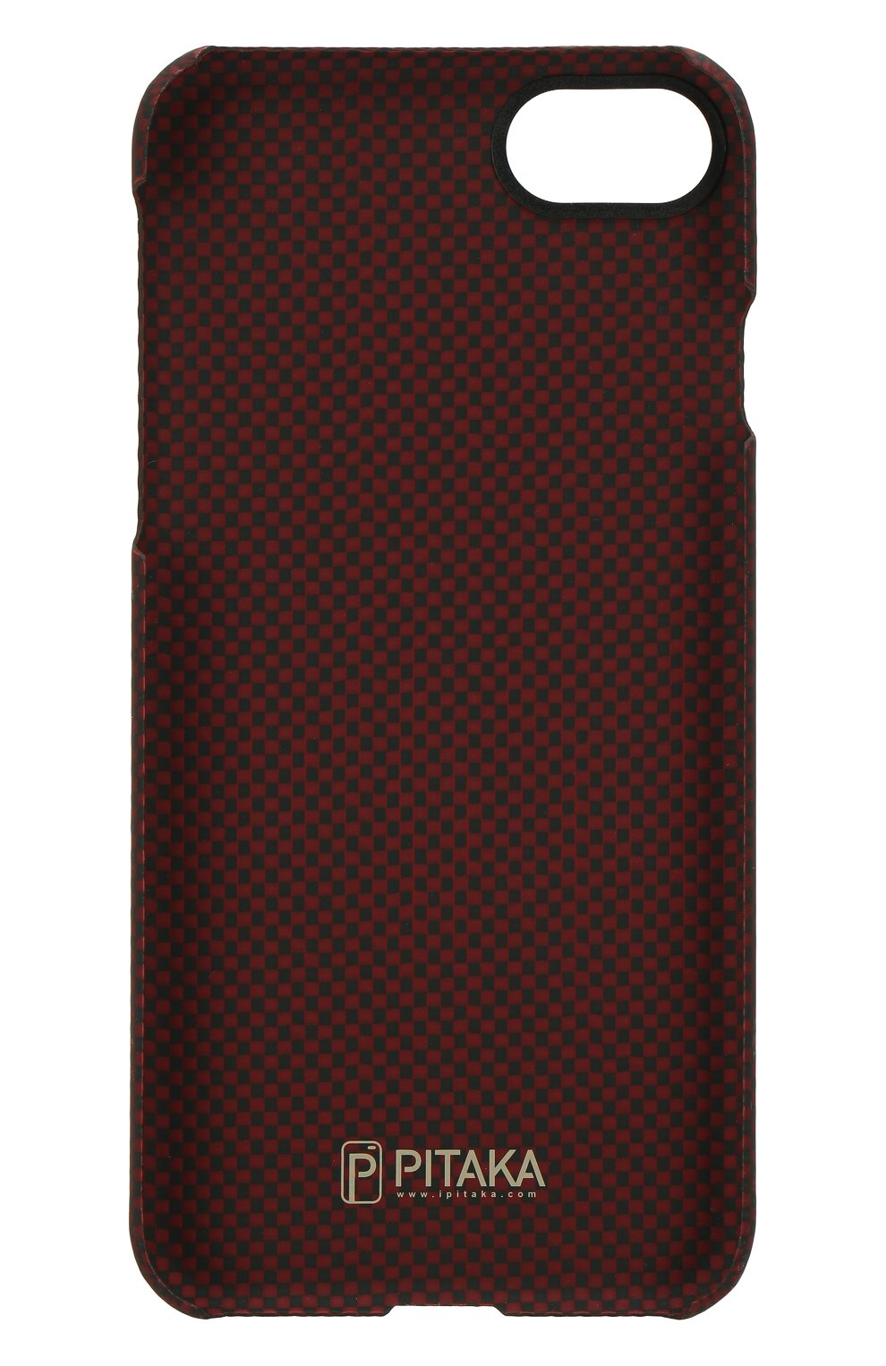 Мужской чехол для iphone 7/8 из кевларовой нити PITAKA красного цвета, арт. KI7004   Фото 2