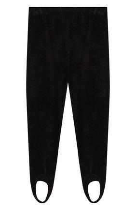 Трикотажные брюки со штрипками | Фото №1