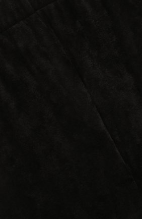 Детские трикотажные брюки со штрипками Alexander Terekhov черного цвета | Фото №3