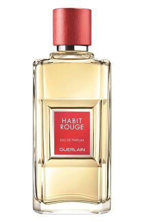 Мужской парфюмерная вода habit rouge GUERLAIN бесцветного цвета, арт. G030128 | Фото 1