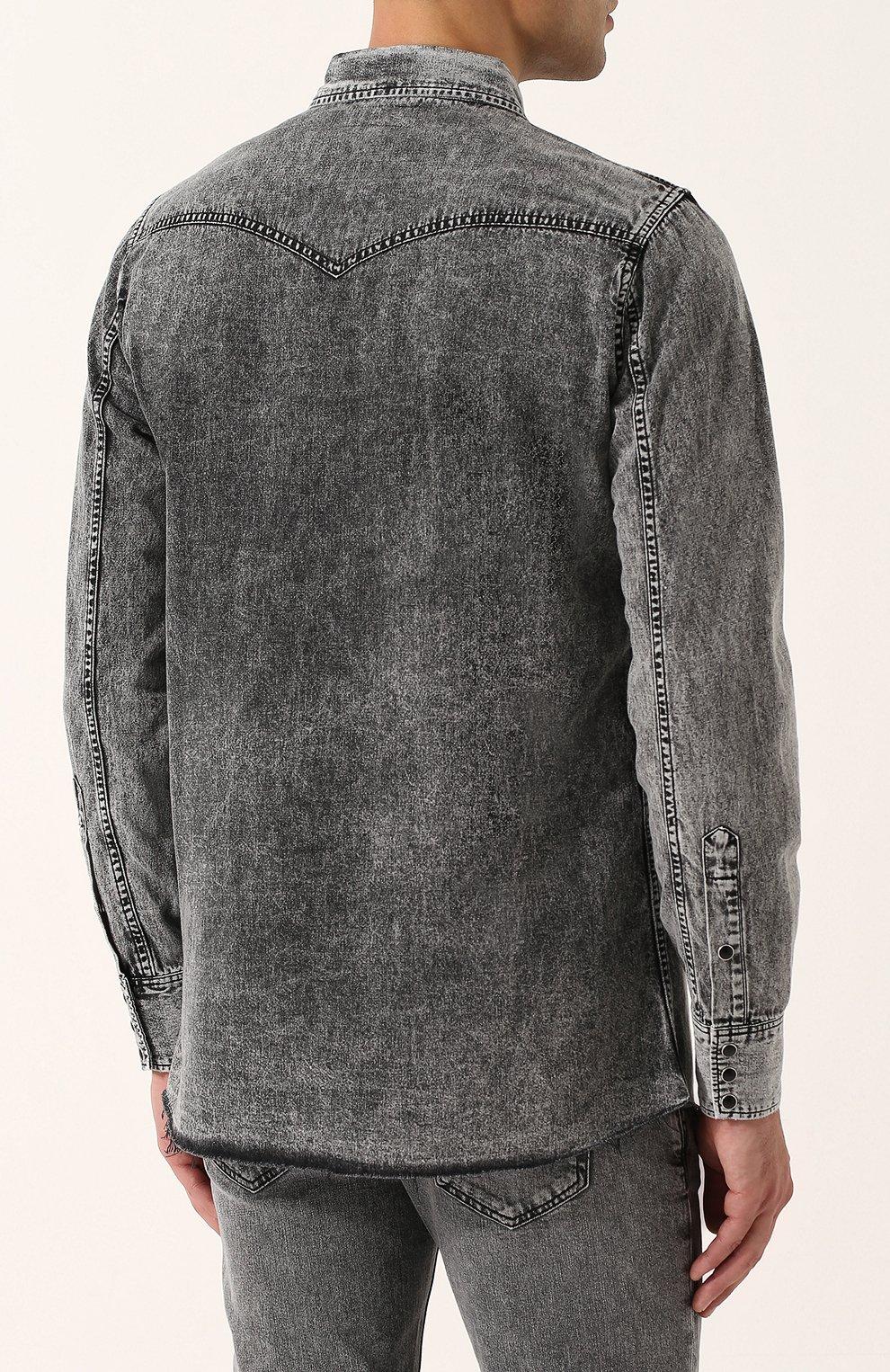 Мужские рубашки Burberry купить в интернет-магазине ЦУМ - товар распродан c4c58440780