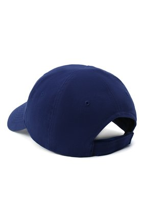 Женская хлопковая бейсболка с логотипом бренда BALENCIAGA темно-синего цвета, арт. 505985/310B5 | Фото 2