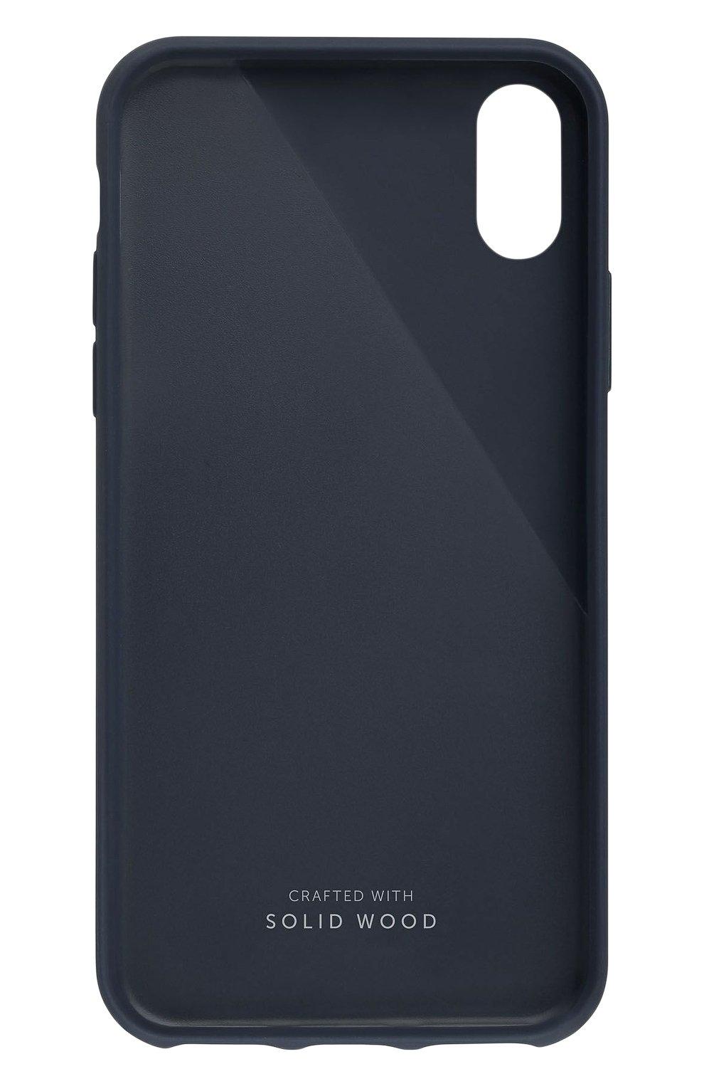 Чехол для iPhone Х с деревянной отделкой   Фото №2
