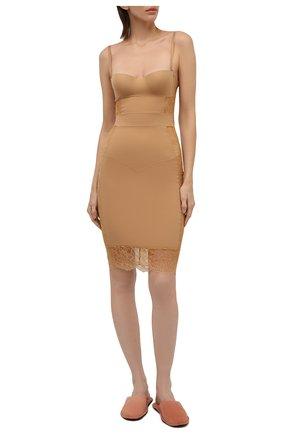 Женская сорочка LA PERLA бежевого цвета, арт. 905871B | Фото 2