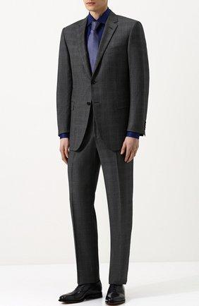 Мужские классические кожаные оксфорды BERLUTI темно-серого цвета, арт. S4012-002 | Фото 2