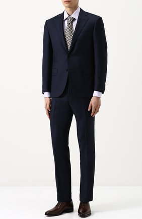 Мужские классические кожаные оксфорды BERLUTI темно-коричневого цвета, арт. S4279-001 | Фото 2