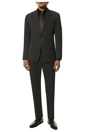Мужские классические кожаные оксфорды BERLUTI черного цвета, арт. S4279-002 | Фото 2