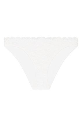 Женские трусы-слипы HANRO белого цвета, арт. 071446 | Фото 1