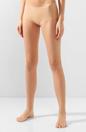 Женские трусы-шорты HANRO бежевого цвета, арт. 071228 | Фото 2