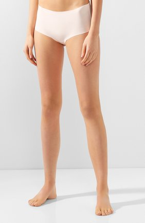 Женские трусы-шорты HANRO светло-бежевого цвета, арт. 071228 | Фото 2